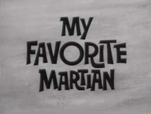 My Favorite Martian Title Card