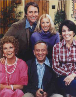 Three's Company Cast